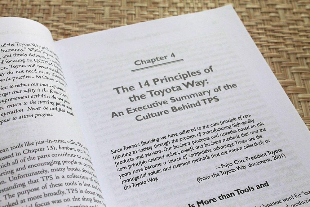 Toyota'nın 14 Yönetim İlkesi